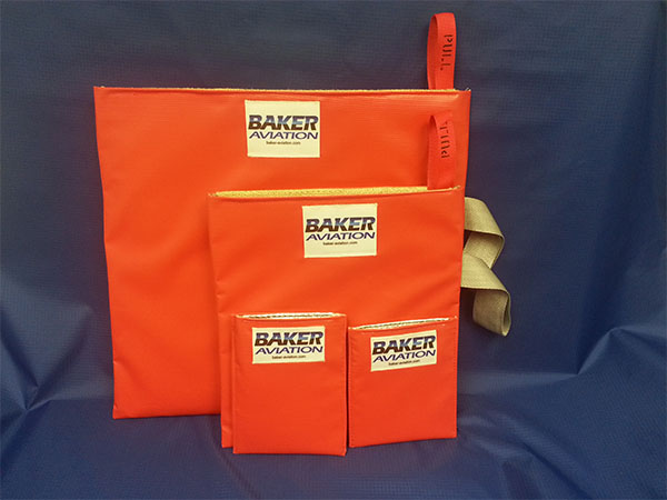 HOT-STOP L fire containment bags