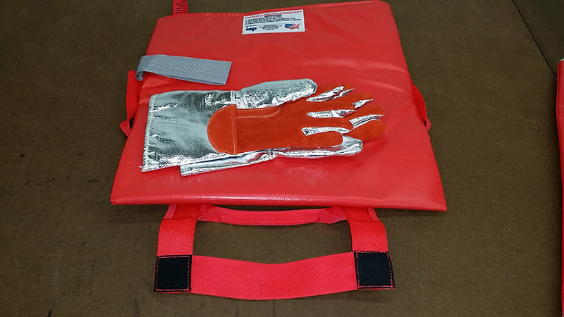 HOT-STOP L fire containment bag